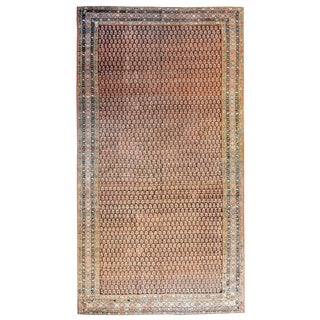 Late 19th Century Antique Malayer Rug For Sale