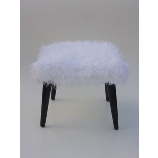 Vintage Faux Fur Bench Preview