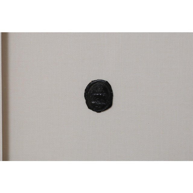 Antique Circa 1800 Black Wax Seal Intaglios For Sale In Houston - Image 6 of 9