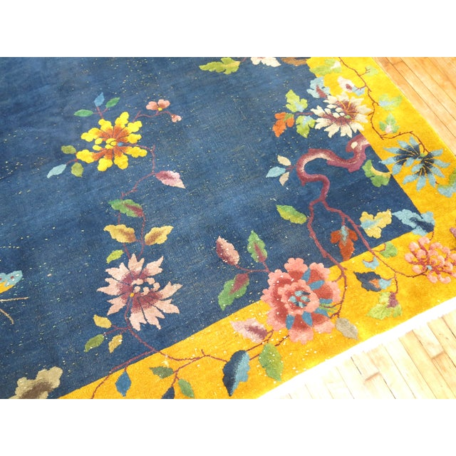 Chinese Art Deco Rug, 9' x 11'9'' - Image 4 of 9
