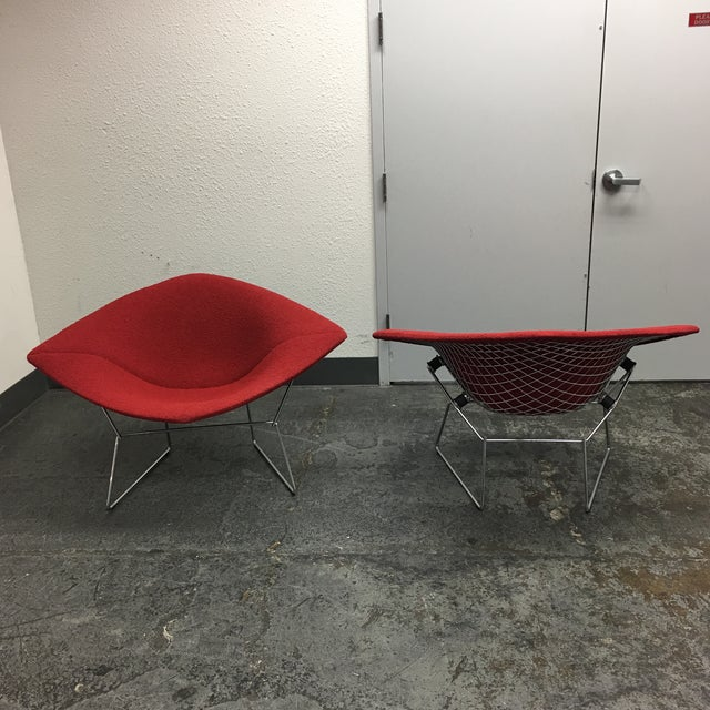 Bertoia Diamond Chairs - A Pair - Image 6 of 7
