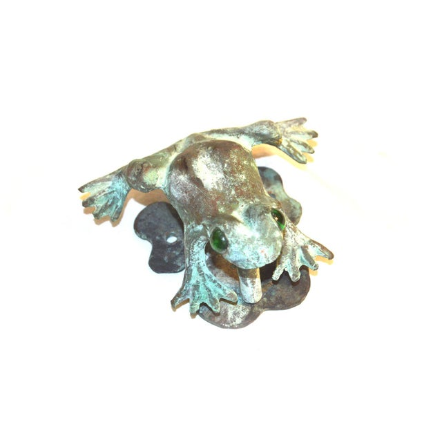 Bronze Frog Door Knocker With Glass Eyes - Image 4 of 10