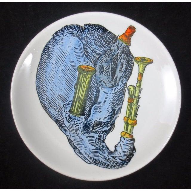 Ceramic Mid-Century Bucciarelli Musical Coasters - Set of 8 For Sale - Image 7 of 12