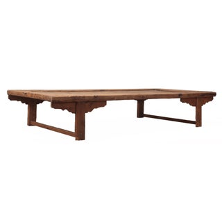 Antique Sarreid LTD Chinese Pine Coffee Table For Sale