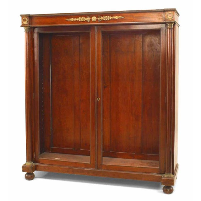 Pair of French Empire Style '19th Century' Bookcases For Sale - Image 4 of 4