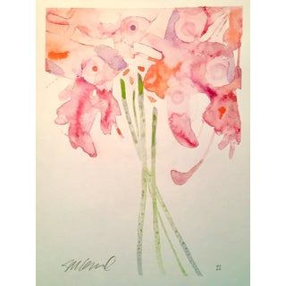 """""""Daytime Lilies"""" Watercolor Painting For Sale"""