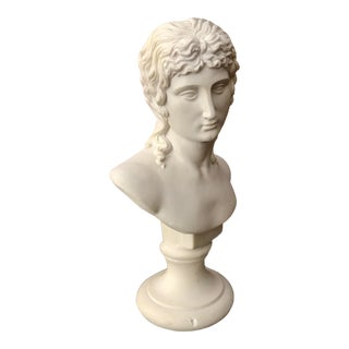 20th Century Hollywood Regency Bust of Eros For Sale