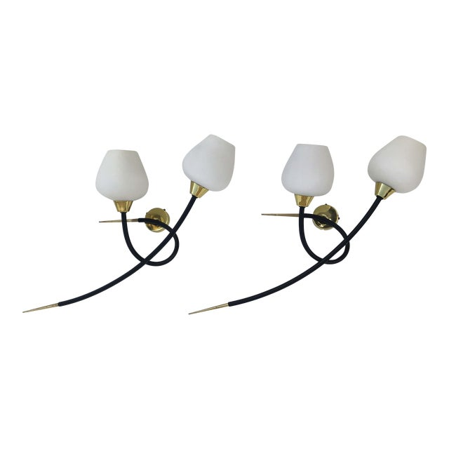 Maison Arlus Sconces - a Pair For Sale