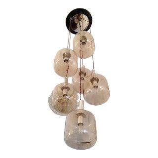 Reggiani Cascading 1960s Ceiling Light For Sale