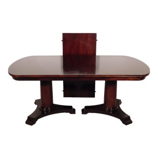 Ralph Lauren Home Mahogany Empire Dining Table For Sale