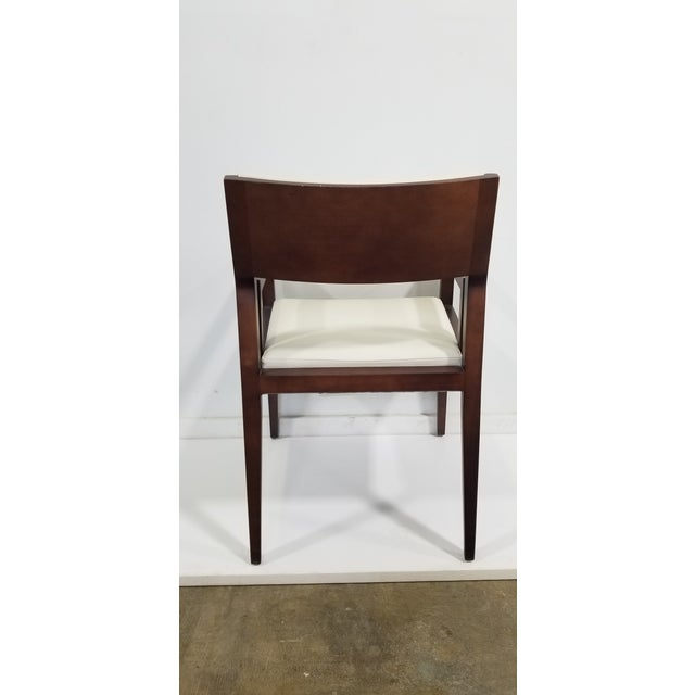 Bernhardt Bernhardt Wood Guest Chair For Sale - Image 4 of 8