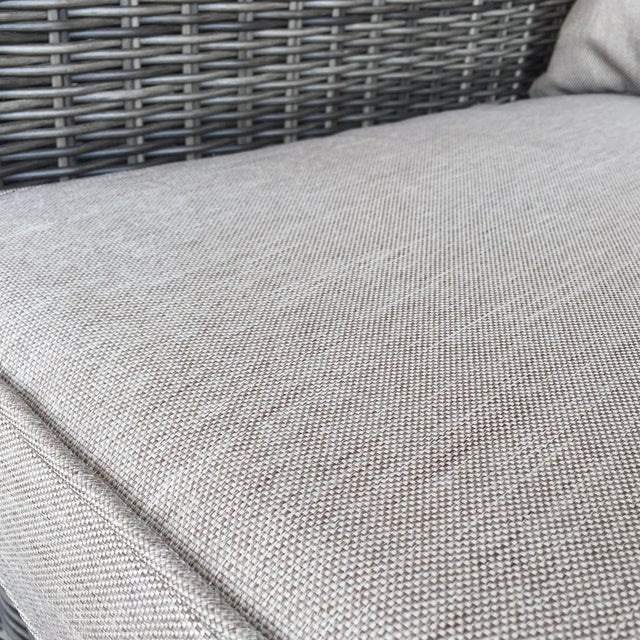 Woven Outdoor Lounge Chair - Image 7 of 7