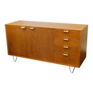 George Nelson Modern Low Profile Credenza For Herman Miller For Sale
