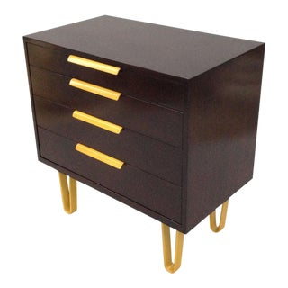 Chest of Drawers on Hairpin Legs by Edward Wormley for Dunbar For Sale