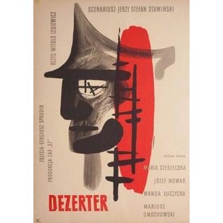 Deserter 1958 Polish A1 Film Poster For Sale