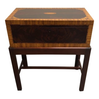 Wood Chest on Stand
