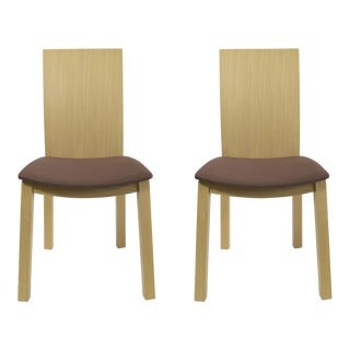 Idealsedia Italian Made Post Modern Side Chairs - a Pair
