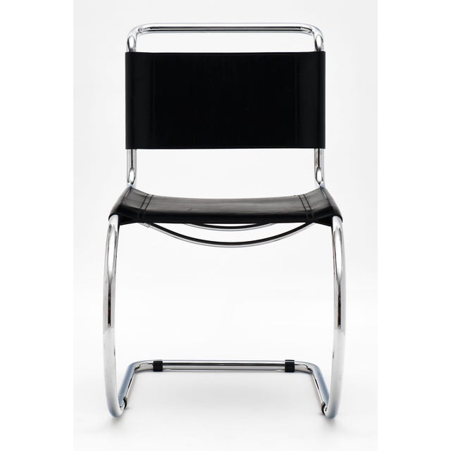 Vintage Mies Van Der Rohe Cantilever Chairs - a Pair For Sale In Austin - Image 6 of 10