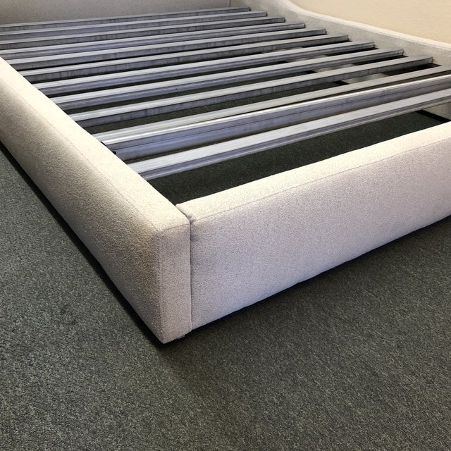 Queen Size Room & Board Marlo Bed Frame For Sale - Image 10 of 13
