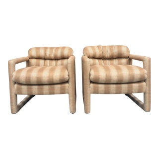 Milo Baughman for Drexel Club Chairs - A Pair