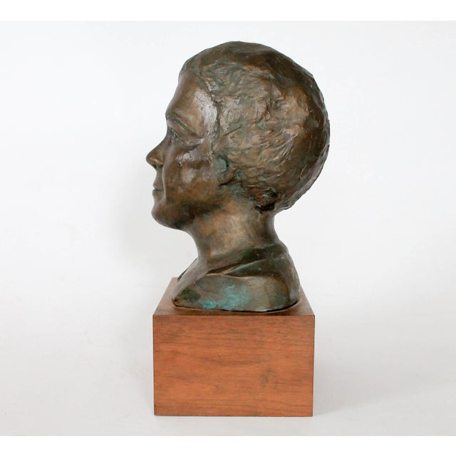 Traditional Plaster Bust For Sale - Image 3 of 9