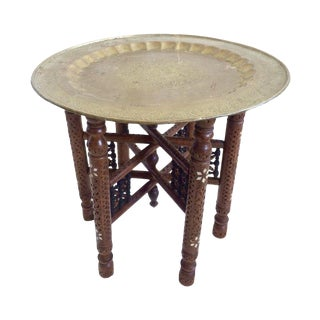 Indian Occasional Tray Table