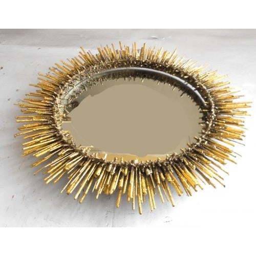 Contemporary The Urchin Wall Mirror by James Bearden For Sale - Image 3 of 4