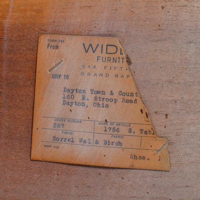 t.h. Robsjohn-Gibbings for Widdicomb Step Side Table For Sale - Image 10 of 11
