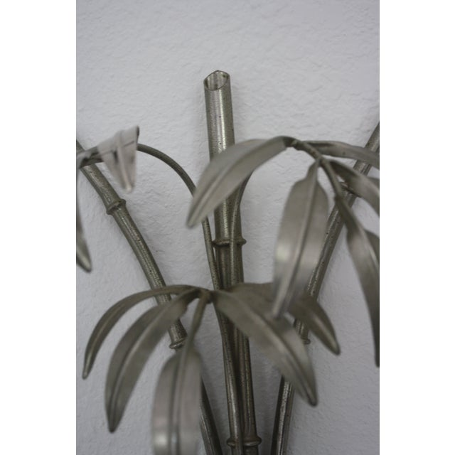 Vintage Italian Faux Bamboo Sconces - A Pair - Image 9 of 9