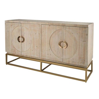 Toretto Sideboard With Gold Legs For Sale