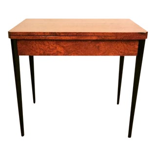 1930s Vintage Art Deco Playing Table For Sale