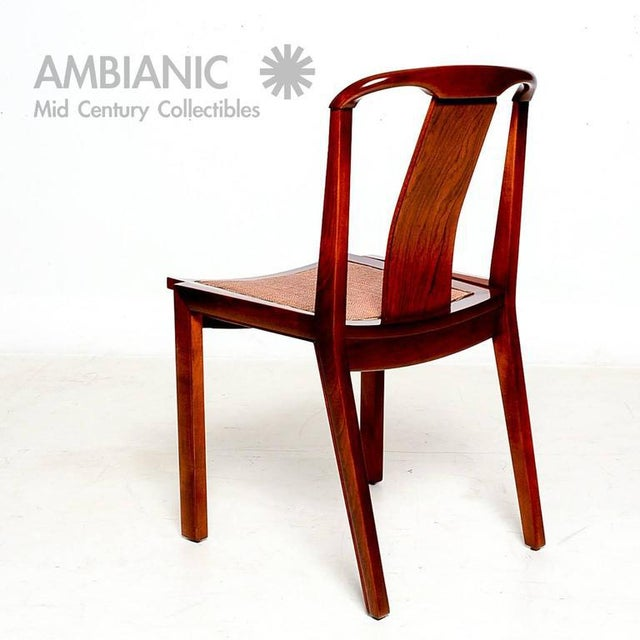 Set of Four Dining Chairs After Baker For Sale - Image 4 of 10