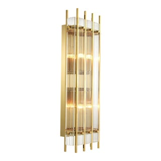 Gold Wall Lamp L   Eichholtz Sparks For Sale