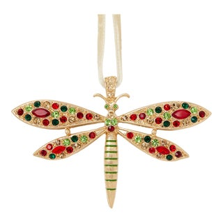 Delicate Dragonfly Hanging Ornament For Sale