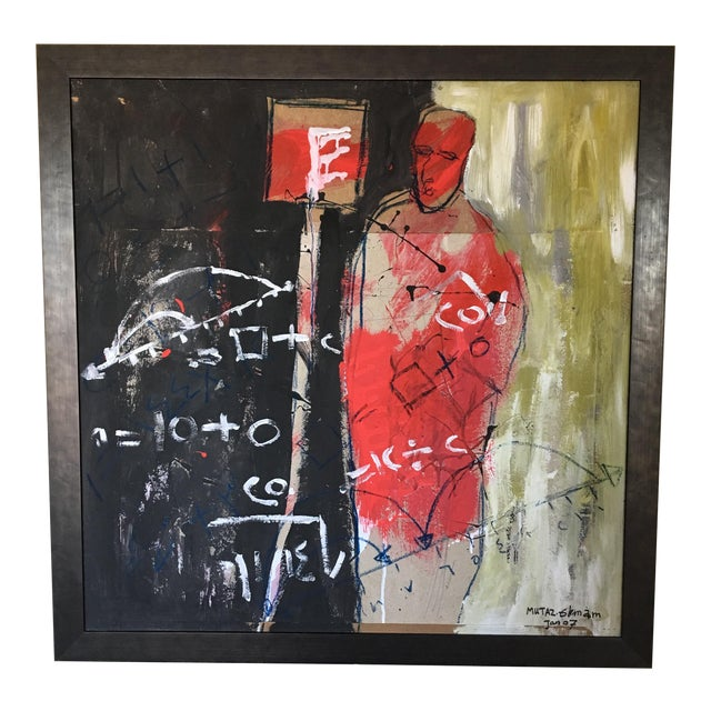 Abstract Painting by Mutaz Elemam For Sale