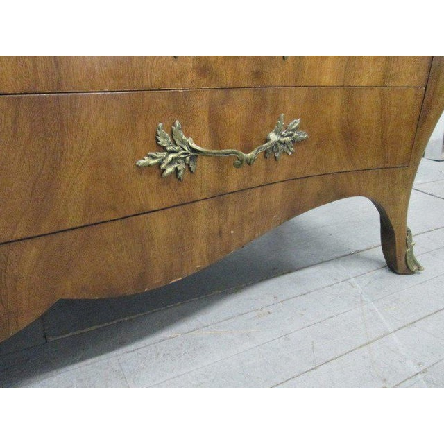 1960s French Style Marble-Top Dresser For Sale - Image 5 of 6