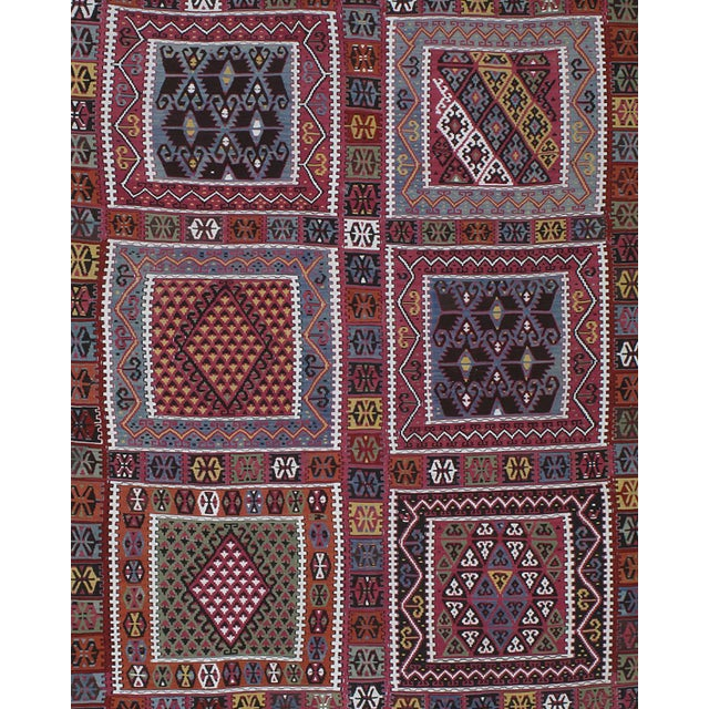 Islamic Superb Antique Bayburt Kilim For Sale - Image 3 of 10