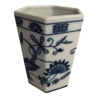 Blue & White Porcelain Cup