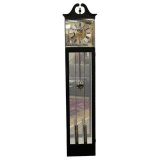 Mid Century Modern Barwick for Howard Miller Lucite Grandmother Clock 1970s For Sale
