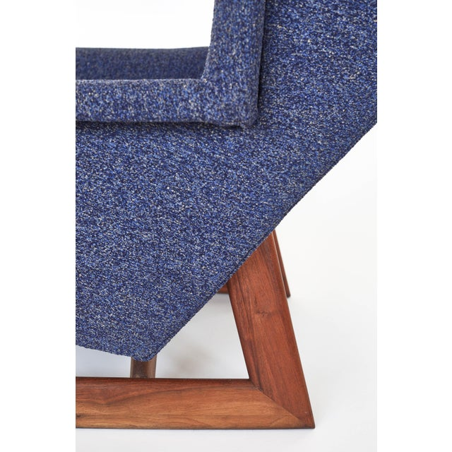 1960s Adrian Pearsall Wingback Chair For Sale - Image 5 of 7