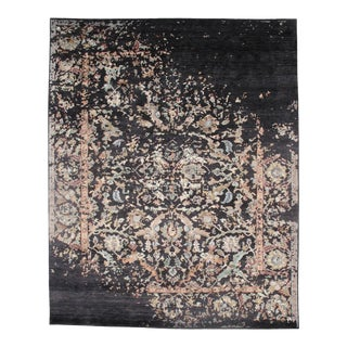 """Pasargad NY Wool & Bamboo Silk Hand Knotted Rug-8'2'x10'2"""" For Sale"""