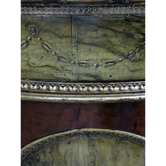 Antique Adams Style Demi-Lune Table For Sale In Philadelphia - Image 6 of 10