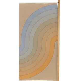 Small Vernor Panton Mira-X Textile Panel For Sale