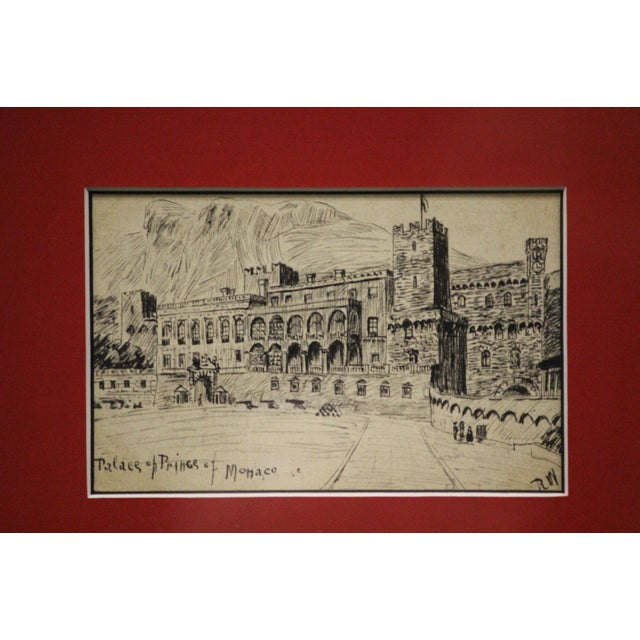 Postcard Drawings From Italy For Sale - Image 5 of 10