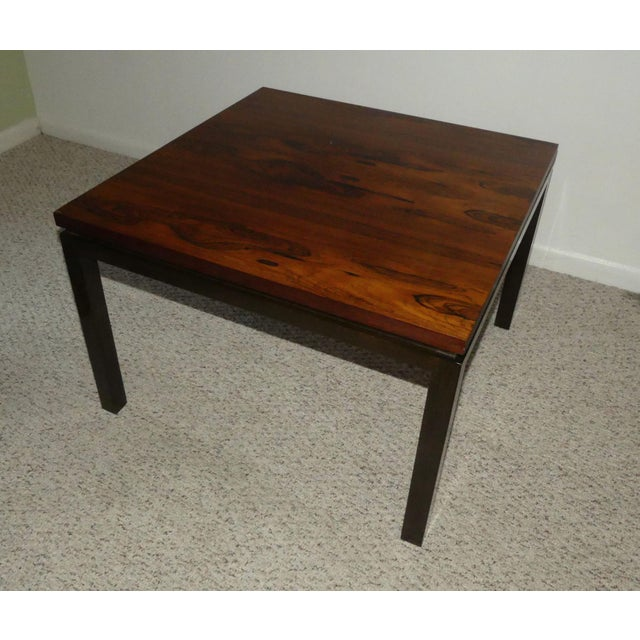 1960s Harvey Probber Rosewood Cocktail Tables - A Pair For Sale - Image 5 of 13