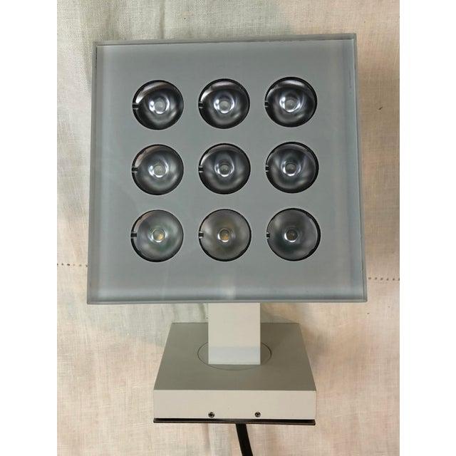 2010s Artemide Falange 9 Outdoor Light in Lunar White - Showroom Sample For Sale - Image 5 of 7