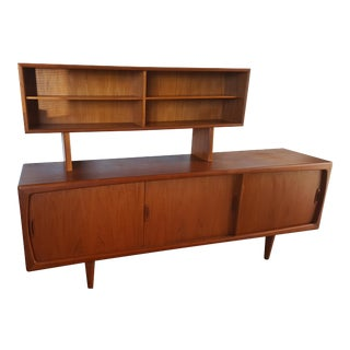 Vintage Mid Century Danish Credenza For Sale