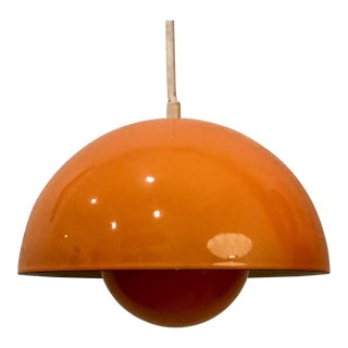 1960s Danish Modern Verner Panton for Louis Poulsen Flowerpot Pendant Light