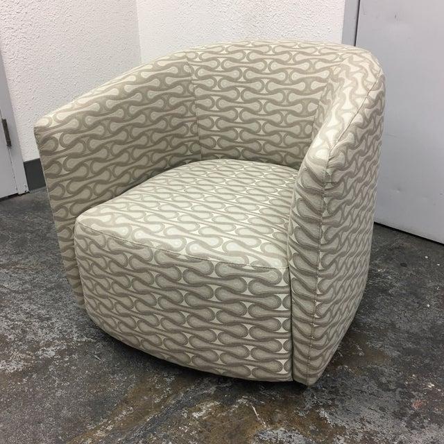 Contemporary New Della Robbia Mila Swivel Chair For Sale - Image 3 of 7