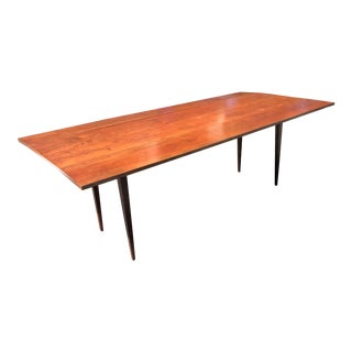 Vintage Danish Modern Style Drop-Leaf Dining Table